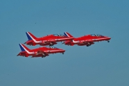 Red Arrows relocated at Cranwell temporarily