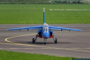 Patrouille de France aircraft crash landed