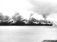 Thunderbirds F-100D Super Sabre engine starts - Nellis AFB 1967. photo Bob Lawson