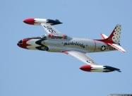 Today's Civil Thunderbirds T-33 Shooting Star