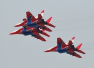 Swifts MiG-29 present paint scheme, from 2003