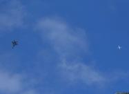 Polish Air Force MiG-29 and civil air traffic
