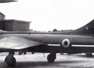Red Devils Hawker Hunter