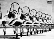 Thunderbirds T-38 Talon. Photo by Michael Jacobssen