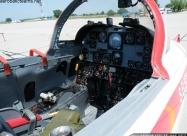 Turkish Stars NF-5A cockpit