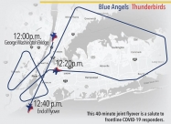 New York and Newark flyover map April 28