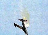 Silver Falcons MB-326 Impala Mk.I. #5 crash on Oct 2, 1993