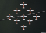 PC-7 TEAM first paint scheme from 1989 to 2007