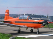 PC-7 TEAM first paint scheme from 1989 to 2007. Photo by Eddy Magielse