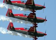 Royal Jordanian Falcons present aircraft Extra 300L, from 1992