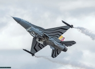 Belgian Air Force F-16 demo team