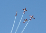 Silver Falcons PC-7, first paint scheme from 1999 to 2008