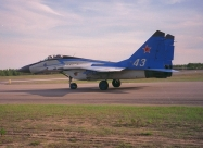 Swifts MiG-29 old paint scheme
