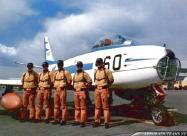 Blue Impulse Sabre pilots