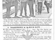 Thunderbirds F-105B Thunderchief newsletter 1964