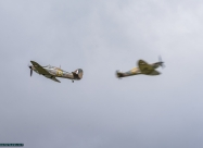Hawker Hurricane and Spitfire