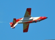 Patrulla Aguila Aviojet present paint scheme from 1991