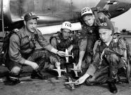 Minute Men F-80C Shooting Star Pilots. Photo US ANG