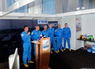 Baltic Bees press conference