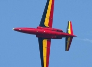 Red Devils flew Fouga Magister from 1965 to 1977