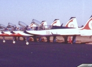 Thunderbirds T-38 Talon. 200th years logo paint scheme