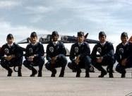Thunderbirds T-38 Talon pilots, four of them to be involved in Diamond crash in 1982