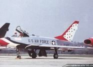 Thunderbirds F-100D Super Sabre
