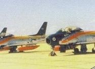 Cruz del Sur F-86F Sabre, from 1962 to 1985