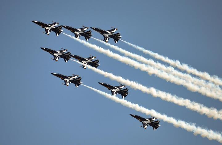 Black Eagles aerobatic display team