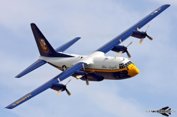 Blue Angels retire Fat Albert C-130T