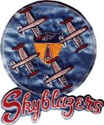 Skyblazers F-84 Thunderjet logo