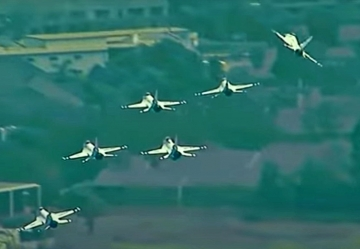 Thunderbirds incident during Los Angeles flyover on May 15
