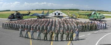 The staff of Thracian Eagle 2016 exercise