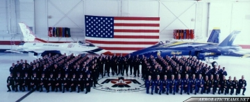 Thunderbirds and Blue Angels reunion