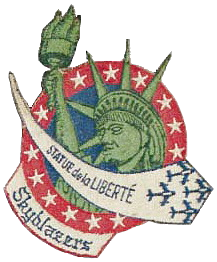 Skyblazers F-86F Sabre logo