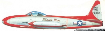 Minute Men F-80C Shooting Star livery