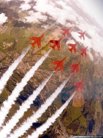 Red Arrows Gnat, the first teams aircraft