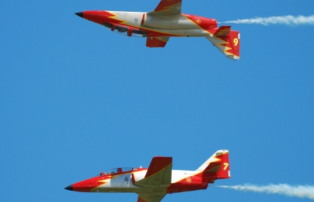 Patrulla Aguila C-101 Aviojet Gallery